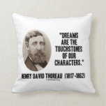 Los sueños de Thoreau son piedras de toque de Almohadas