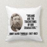 Los sueños de Thoreau son piedras de toque de nues Almohadas