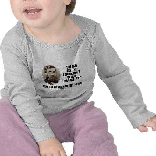 Los sueños de Thoreau son piedras de toque de nues Camiseta