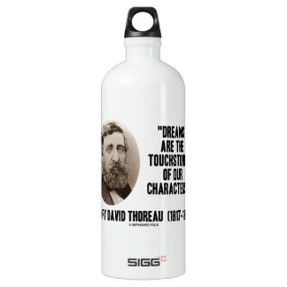 Los sueños de Thoreau son piedras de toque de