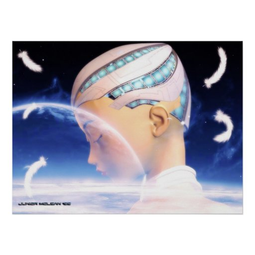 Los sueños de un Cyborg Poster