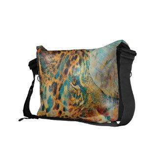 Los sueños del leopardo del vintage de Costa Rica Bolsa De Mensajería