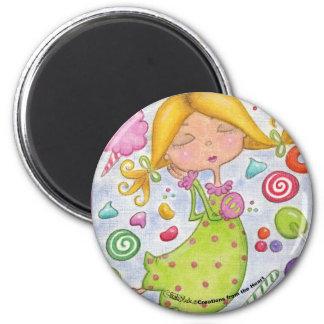 Los sueños más dulces imán redondo 5 cm