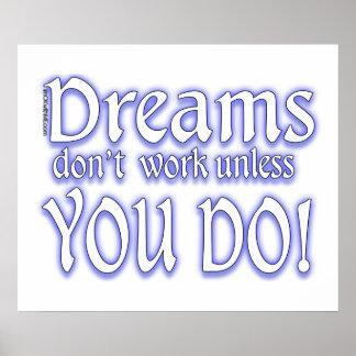 Los sueños no trabajan - 3 póster