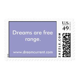 Los sueños son gama libre sello