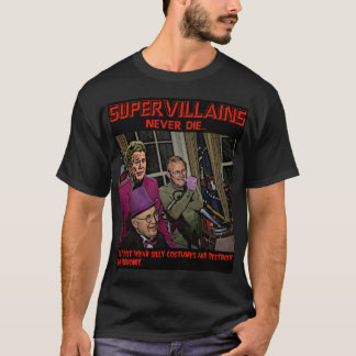 Los Supervillains nunca mueren… Bush Cheney Playera