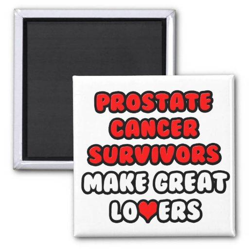 Los supervivientes del cáncer de próstata hacen a  iman
