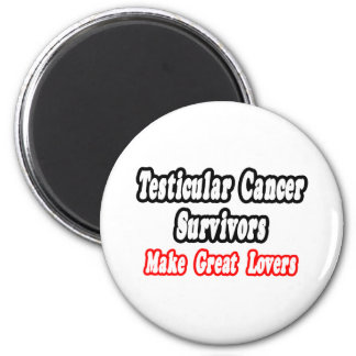 Los supervivientes del cáncer testicular hacen a g imanes para frigoríficos