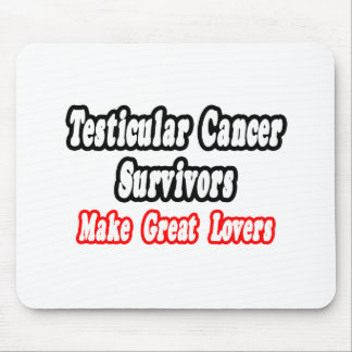 Los supervivientes del cáncer testicular hacen a g alfombrillas de raton