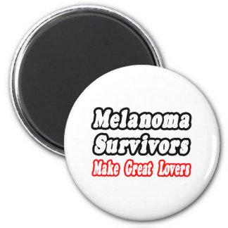 Los supervivientes del melanoma hacen a grandes am imán