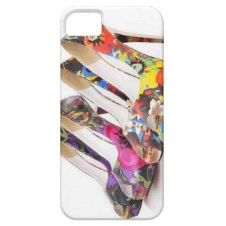 Los tacones de aguja artísticos diseñan el iPhone Funda Para iPhone 5 Barely There