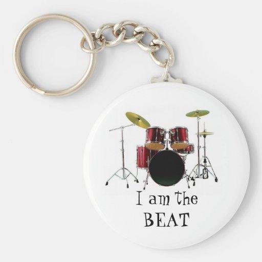 los tambores, soy theBEAT Llaveros Personalizados