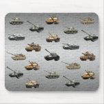 Los tanques de los militares de los E.E.U.U. Tapetes De Ratones