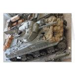 Los tanques de WWII Tarjeta