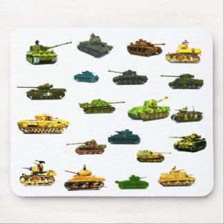 Los tanques mucho Mousematt. Alfombrillas De Raton