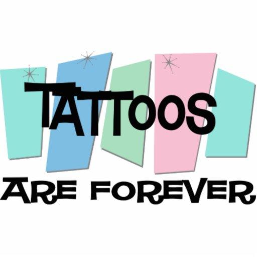 Los tatuajes son Forever Escultura Fotográfica