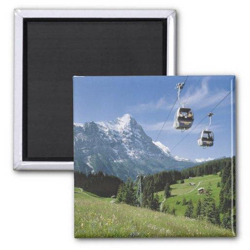 Los teleféricos acercan al Jungfrau Imán Cuadrado