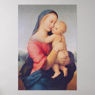 """Los """"tempos"""" Madonna, 1508 Póster"""