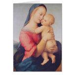 """Los """"tempos"""" Madonna, 1508 Tarjeta De Felicitación"""
