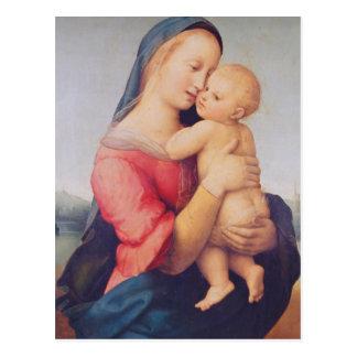 """Los """"tempos"""" Madonna, 1508 Postal"""