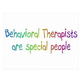 Los terapeutas de Bahavioral son gente especial Postales