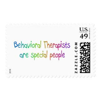 Los terapeutas de Bahavioral son gente especial Timbres Postales