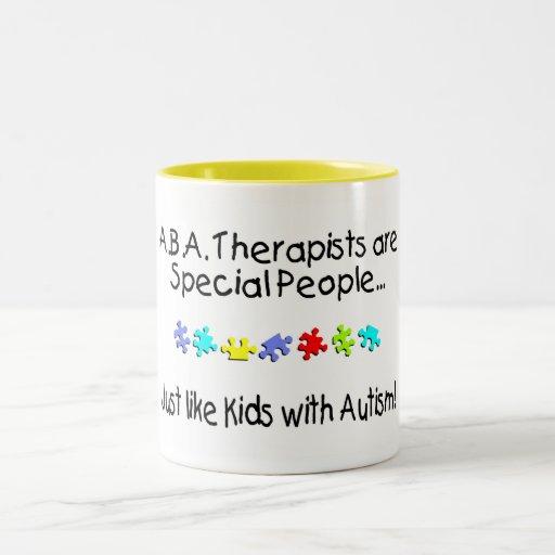 Los terapeutas del ABA son gente especial apenas c Tazas De Café