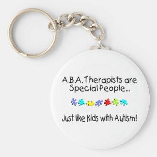Los terapeutas del ABA son gente especial Llavero