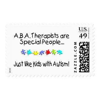 Los terapeutas del ABA son gente especial… Franqueo
