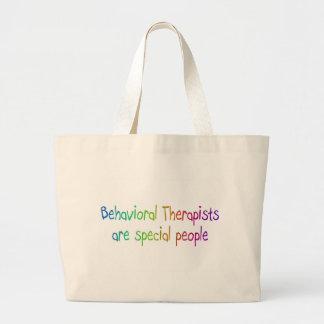 Los terapeutas del comportamiento son gente especi bolsa tela grande