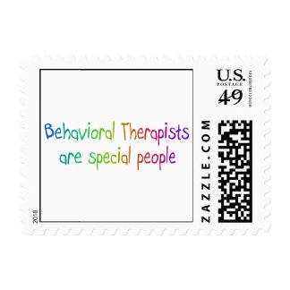 Los terapeutas del comportamiento son gente sellos
