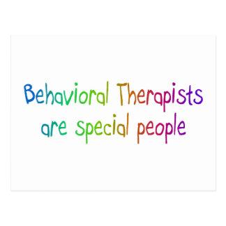 Los terapeutas del comportamiento son gente postal