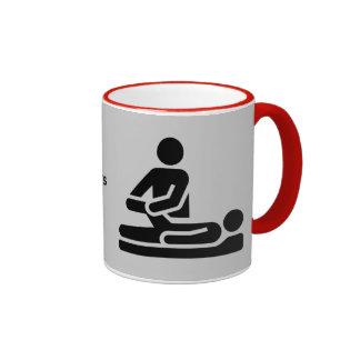 Los terapeutas físicos son el mejor taza de dos colores
