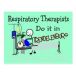 Los terapeutas respiratorios lo hacen en Trendelen Postal