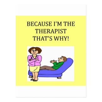 los terapeutas saben mejor postales