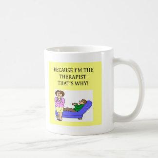 los terapeutas saben mejor tazas de café