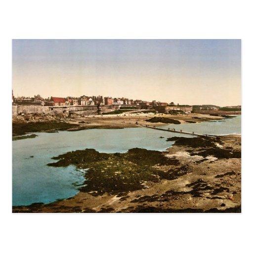 Los terraplenes del bey magnífico, St. Malo, clas  Tarjetas Postales