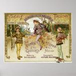 Los terratenientes del guardia póster