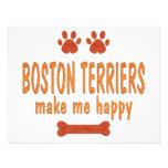 Los terrieres de Boston me hacen feliz Comunicados Personales