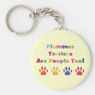 Los terrieres de Plummer son gente también Llavero Personalizado