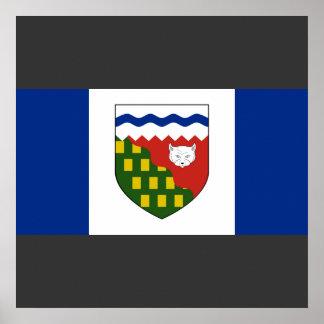 los territorios del noroeste, Canadá Posters