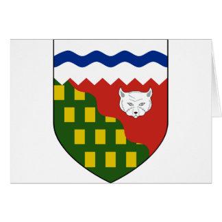 los territorios del noroeste, Canadá Tarjetas