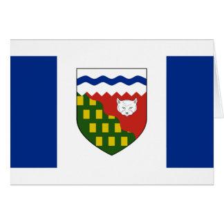 los territorios del noroeste, Canadá Felicitaciones