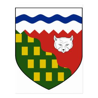 los territorios del noroeste, Canadá Tarjeta Postal