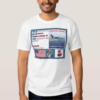 Los terroristas americanos del abejón de la fuerza poleras