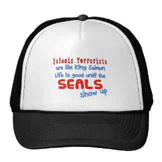 Los terroristas islámicos son como el rey salmón gorra