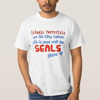 Los terroristas islámicos son como el rey salmón polera