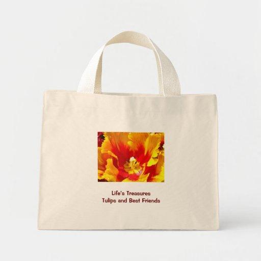 Los tesoros de la vida de los bolsos de los tulipa bolsa