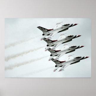 Los Thunderbirds Póster