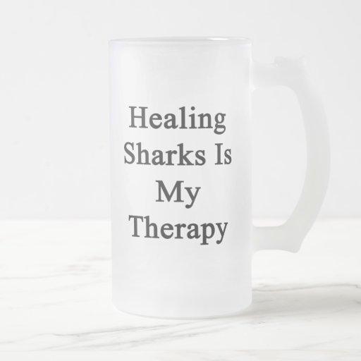 Los tiburones curativos son mi terapia